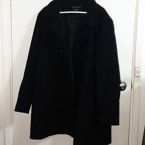 Dorothy Perkins AUS22 black button up coat